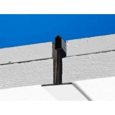 26505010 Потолочная панель Combison XR (Комбизон XР) 1500х600x50, Черный 982