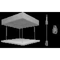 Потолочная панель Rockfon Eclipse (Роcкфон Еклипс) Be 1160x1160x40 Белый