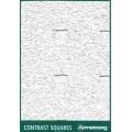Потолочная панель Contrast SQUARES Microlook (Контраст СКУАРЕС Микролук) 600x600x15 BP 9903 M4