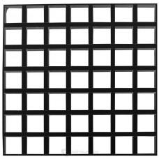 Решетчатая потолочная панель Cellio C16 (150x150x37) - черный (Целлио) В сборе 600x600x37mm BP9006M6JBK