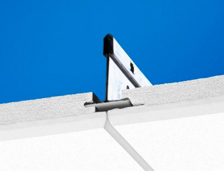 Ecophon 35421501 Потолочная панель Focus Ds (Фокус Дс) 1200x600x20, Белый Frost